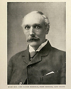 Right Hon. John Xavier Merriman, Prime Minister, Cape Colony From the Book '  Britain across the seas : Africa : a history and description of the British Empire in Africa ' by Johnston, Harry Hamilton, Sir, 1858-1927 Published in 1910 in London by National Society's Depository
