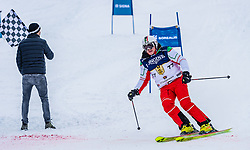 26.01.2019, Streif, Kitzbühel, AUT, FIS Weltcup Ski Alpin, KitzCharityTrophy, im Bild v.l. Sebastian Vettel, Marc Girardelli (Kitz Legenden) // f.l. Sebastian Vettel Marc Girardelli of Kitz Legenden during the KitzCharityTrophy at the Streif in Kitzbühel, Austria on 2019/01/26. EXPA Pictures © 2019, PhotoCredit: EXPA/ Stefan Adelsberger