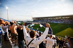 Spectators during football match between HNK Rijeka and HNK Cibala in Round #35 of 1st HNL League 2016/17, on May 21st, 2017 in Rujevica stadium, Rijeka, Croatia. Photo by Grega Valancic / Sportida