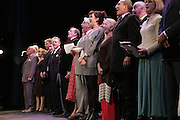 CURTAIN CALL, The John Betjeman Variety Show, sponsored by Shell, in aid of Sane. In the Presnece of the Prince of Wales and the Duchess of Cornwall. Prince of Wales theatre. London. 10 September 2006. ONE TIME USE ONLY - DO NOT ARCHIVE  © Copyright Photograph by Dafydd Jones 66 Stockwell Park Rd. London SW9 0DA Tel 020 7733 0108 www.dafjones.com