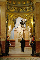 Mausoleum of General San Martín Guarded by Statues Representing Argentina, Peru and Chile, Buenos Aires Metropolitan Cathedral