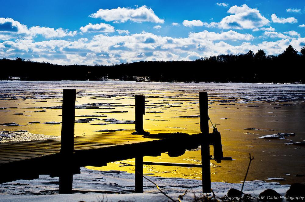 Moodus Reservoir - Late Afternoon