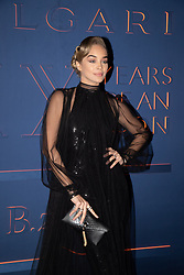 Jasmine Sanders arriving for the Bulgari XX 20th anniversary party in Rome
