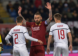 February 3, 2019 - Rome, Italy - Daniele De Rossi during the Italian Serie A football match between A.S. Roma and A.C. Milan at the Olympic Stadium in Rome, on february 03, 2019. (Credit Image: © Silvia Lore/NurPhoto via ZUMA Press)