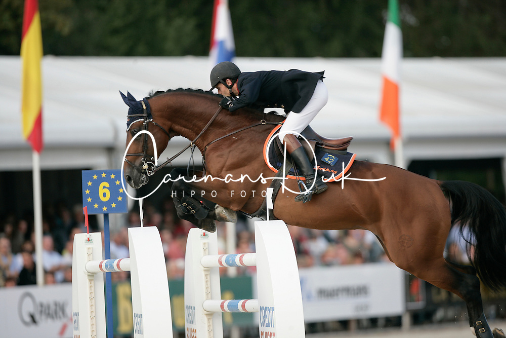 Jobertie David, Triomphe De Muze<br /> World Championship Young Horses Lanaken 2005<br /> Photo © Hippo Foto