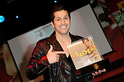 Presentatie 11e editie Top 40 Hitdossier en lancering nieuwe website www.top40.nl in De Vorstin, Hilversum.<br /> <br /> Op de foto:  Jody Bernal ontving een award voor zijn hit Que Si, Que No, die het afgelopen decennium de succesvolste song was