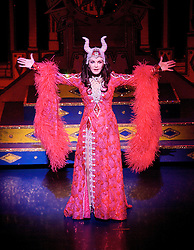 Priscilla Presley as Wicked Queen..Snow White and the seven dwarfs, New Wimbledon Theatre, London, Great Britain, December 6, 2012.  2012. Photo by Elliott Franks / i-Images.