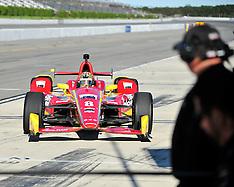 Sage Karam at Pocono Raceway 8-22-2015
