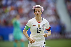 July 7, 2019 - Lyon, France - Megan Rapinoe (Reign FC) of United States during the 2019 FIFA Women's World Cup France Final match between The United State of America and The Netherlands at Stade de Lyon on July 7, 2019 in Lyon, France. (Credit Image: © Jose Breton/NurPhoto via ZUMA Press)