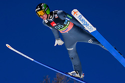 March 23, 2019 - Planica, Slovenia - Timi Zajc of Slovenia in action during the team competition at Planica FIS Ski Jumping World Cup finals  on March 23, 2019 in Planica, Slovenia. (Credit Image: © Rok Rakun/Pacific Press via ZUMA Wire)