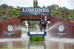 OIWA Yoshiaki (JPN), Calle 44<br /> Tryon - FEI World Equestrian Games™ 2018<br /> Vielseitigkeit Teilprüfung Gelände/Cross-Country Team- und Einzelwertung<br /> 15. September 2018<br /> © www.sportfotos-lafrentz.de/Sharon Vandeput