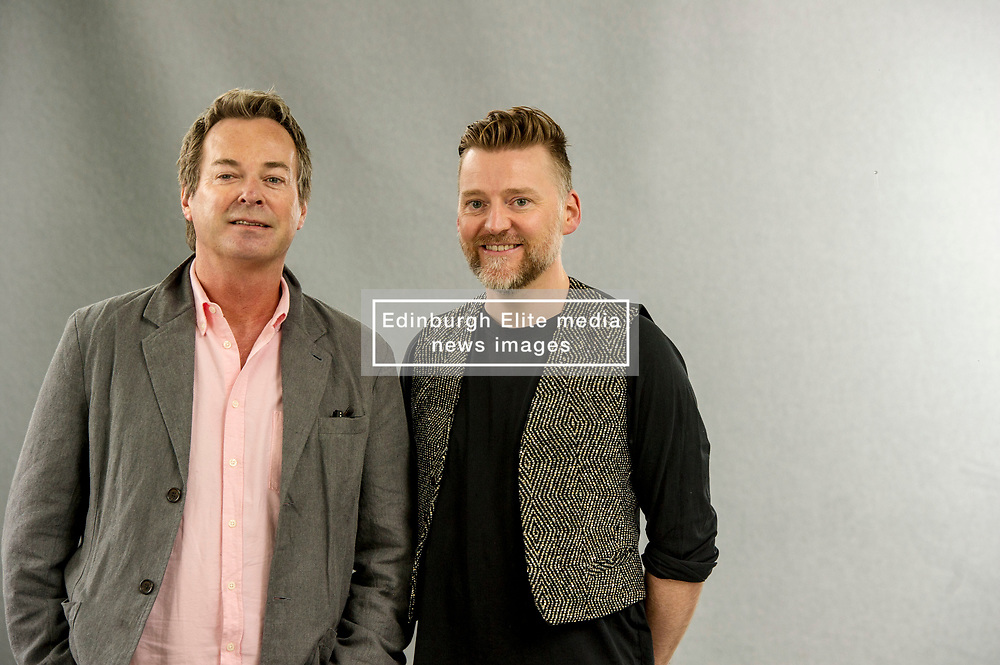 Pictured: Julian Clary and David Roberts<br /> <br /> Julian Peter McDonald Clary (born 25 May 1959) is an English comedian, actor, presenter and novelist. Openly gay, Clary began appearing on television in the mid-1980s and became known for his deliberately stereotypical camp style. Since then he has also acted in films, television and stage productions, and was the winner of Celebrity Big Brother 10 in 2012. <br /> <br /> David Ian Roberts (born 8 May 1970) is a British children's illustrator. He has illustrated a large number of books in both black and white and colour. His black and white work mainly features in books for older readers and he has worked with such well-known authors as Philip Ardagh (on the Eddie Dickens and Unlikely Exploits series), G.P. Taylor (on the Mariah Mundi series), Chris Priestley (on the Tales of Terror series), Mick Jackson (on Ten Sorry Tales and The Bears of England), Susan Price (on the Olly Spellmaker series), Jon Blake (on the Stinky Finger series) and Tom Baker (on The Boy Who Kicked Pigs). Mouse Noses on Toast by Daren King won the Nestle Smarties Book Prize (ages 6–8 years) in 2006, after which King and Roberts collaborated on other titles including Peter the Penguin Pioneer, Sensible Hare and the Case of Carrots and The Frightfully Friendly Ghosties series.