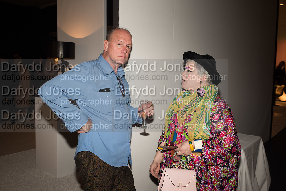 RICKY CLIFTON; BETTANY LAURA WOOD, Opening of Pad, Berkeley Sq. London. 2 October 2017
