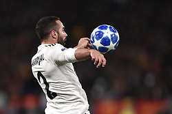 November 27, 2018 - Rome, Rome, Italy - Daniel Carvajal of Real Madrid during the UEFA Champions League match between Roma and Real Madrid at Stadio Olimpico, Rome, Italy on 27 November 2018. (Credit Image: © Giuseppe Maffia/Pacific Press via ZUMA Wire)
