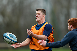 Callum Sheedy of Bristol Bears in action during a training session - Rogan/JMP - 04/03/2021 - RUGBY UNION - Bristol Bears High Performance Centre - Bristol, England.