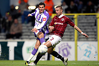 Fotball<br /> Frankrike<br /> Foto: Dppi/Digitalsport<br /> NORWAY ONLY<br /> <br /> FOOTBALL - UEFA CUP 2007/2008 - GROUP STAGE - MATCHDAY 2 - GROUP E - TOULOUSE FC v AC SPARTA PRAHA - 08/11/2007 - ANDRE-PIERRE GIGNAC (TOU) / TOMAS REPKA (PRA)