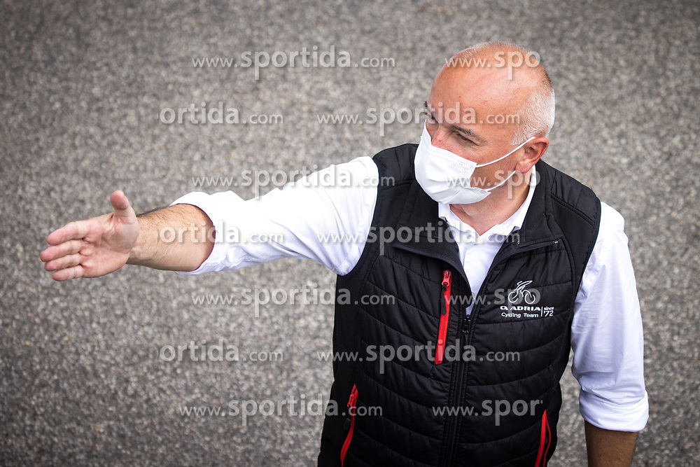 Bogdan Fink, chief of race Tour of Slovenia during 2nd Stage of 27th Tour of Slovenia 2021 cycling race between Zalec and Celje (147 km), on June 10, 2021 in Slovenia. Photo by Matic Klansek Velej / Sportida