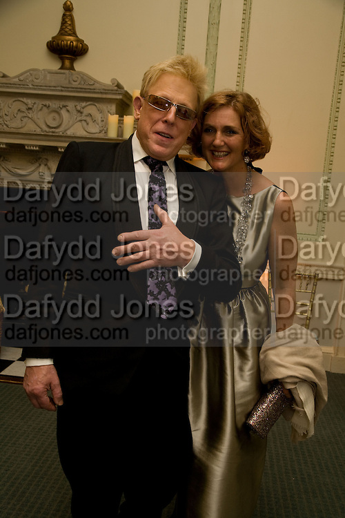 ANTONY PRICE; FRANCESCA VON HAPSBURG,  Nicky Haslam party for Janet de Bottona nd to celebrate 25 years of his Design Company.  Parkstead House. Roehampton. London. 16 October 2008.  *** Local Caption *** -DO NOT ARCHIVE-© Copyright Photograph by Dafydd Jones. 248 Clapham Rd. London SW9 0PZ. Tel 0207 820 0771. www.dafjones.com.
