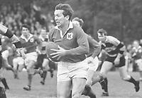 Rugby Union - 1968 / 1969 season - London Welsh vs. Newport <br /> <br /> John Dawes on the ball for London Welsh at Old Deer Park.<br /> <br /> 23/11/1968