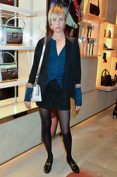 EDIE CAMPBELL at the Roger Vivier 'The Perfect Pair' Frieze cocktail party celebrating Ambra Medda & 'Miss Viv' at the Roger Vivier Boutique, Sloane Street, London on 15th October 2014.