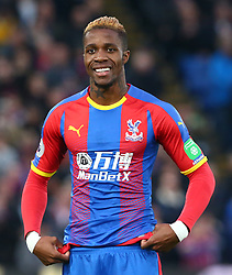 December 26, 2018 - London, England, United Kingdom - London, England - 26 December, 2018.Crystal Palace's Wilfried Zaha.during English Premier League between Crystal Palace and Cardiff City at Selhurst Park stadium , London, England on 26 Dec 2018. (Credit Image: © Action Foto Sport/NurPhoto via ZUMA Press)