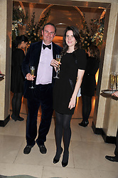 WILLIAM CASH and LADY LAURA CATHCART at a dinner and dance hosted by Leon Max for the charity Too Many Women in support of Breakthrough Breast Cancer held at Claridges, Brook Street, London on 1st December 2011.