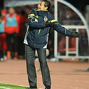 Fenerbahce's coach Aykut Kocaman during their Turkish Super League soccer match MP Antalyaspor between Fenerbahce at the Ataturk stadium in Antalya Turkey on Sunday 17 March 2013. Photo by TURKPIX