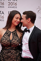 Nadia Milliken and Martin McCann at the IFTA Film & Drama Awards (The Irish Film & Television Academy) at the Mansion House in Dublin, Ireland, Saturday 9th April 2016. Photographer: Doreen Kennedy