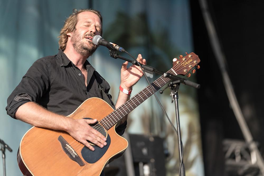 German singer-songwriter Gisbert zu Knyphausen at Haldern Pop Festival