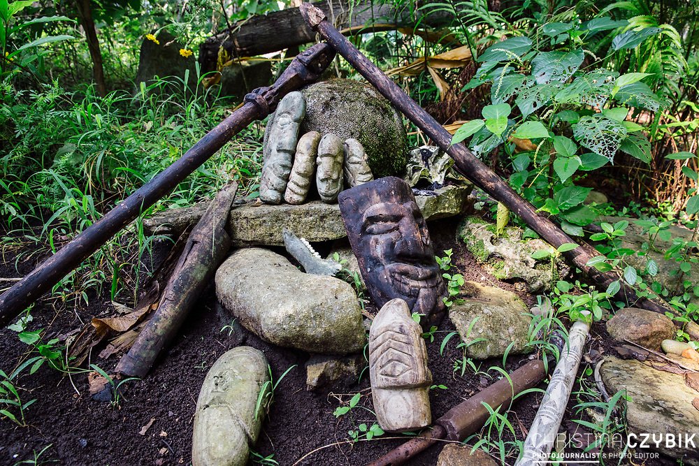 Historic Burial Sites on Malekula, Vanuatu, South Pacific