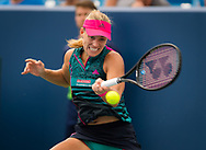 Angelique Kerber of Germany in action during her third-round match at the 2018 Western and Southern Open WTA Premier 5 tennis tournament, Cincinnati, Ohio, USA, on August 16th 2018 - Photo Rob Prange / SpainProSportsImages / DPPI / ProSportsImages / DPPI