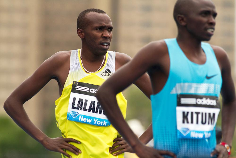 adidas Grand Prix Diamond League professional track & field meet: mens 800 meters, Boaz Kiplagat LALANG