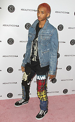 BeautyconLA Festival, Day 2 at The Los Angeles Convention Center in Los Angeles, California on 8/13/17. 13 Aug 2017 Pictured: Jaden Smith. Photo credit: River / MEGA TheMegaAgency.com +1 888 505 6342