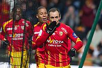 FOOTBALL - FRENCH CHAMPIONSHIP 2009/2010 - L1 - RC LENS v PARIS SAINT GERMAIN - 6/03/2010 - PHOTO CHRISTOPHE ELISE / DPPI - SEBASTIEN ROUDET (LENS)