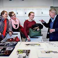 Nederland,Amsterdam , 18 januari 2015.<br /> Roc-open dag bij Jan des Bouvrie College met Jan des Bouvrie College<br /> Foto:Jean-Pierre Jans