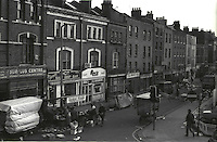 View of brick lane marketfinishing up for the day.<br />