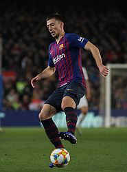 February 6, 2019 - Barcelona, BARCELONA, Spain - Lenglet of Real Madrid in action during Spanish King championship, football match between Barcelona and Real Madrid, February 06th, in Camp Nou Stadium in Barcelona, Spain. (Credit Image: © AFP7 via ZUMA Wire)