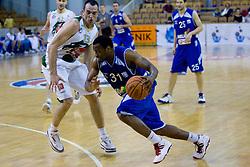 Alvin Snow of Helios at third finals basketball match of Slovenian Men UPC League between KK Union Olimpija and KK Helios Domzale, on June 2, 2009, in Arena Tivoli, Ljubljana, Slovenia. Union Olimpija won 69:58 and became Slovenian National Champion for the season 2008/2009. (Photo by Vid Ponikvar / Sportida)