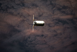 May 24, 2018 - Space - The Orbital ATK space freighter is pictured as it slowly and methodically approaches the International Space Station to resupply the Expedition 55 crew. (Credit Image: ? NASA/ZUMA Wire/ZUMAPRESS.com)