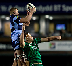 Shane Lewis-Hughes of Cardiff Blues<br /> <br /> Photographer Simon King/Replay Images<br /> <br /> Guinness PRO14 Round 14 - Cardiff Blues v Connacht - Saturday 26th January 2019 - Cardiff Arms Park - Cardiff<br /> <br /> World Copyright © Replay Images . All rights reserved. info@replayimages.co.uk - http://replayimages.co.uk