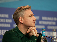 at the press conference for the film The Operative (Die Agentin) at the 69th Berlinale International Film Festival, on Sunday 10th February 2019, Hotel Grand Hyatt, Berlin, Germany.