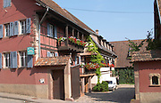 the house and winery dom pfister dahlenheim alsace france