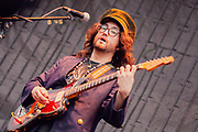 Sean Lennon in TheGhost of a Saber Tooth Tigei at Nelsonville Music Festival by Mara Robinson 9945