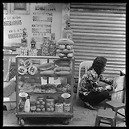 Sandwich street shop, Hanoi, Vietnam, Asia