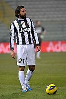 Andrea Pirlo Juventus.Calcio Cagliari vs Juventus .Serie A - Parma 21/12/2012 Stadio Ennio Tardini.Football Calcio 2012/2013.Foto Federico Tardito Insidefoto