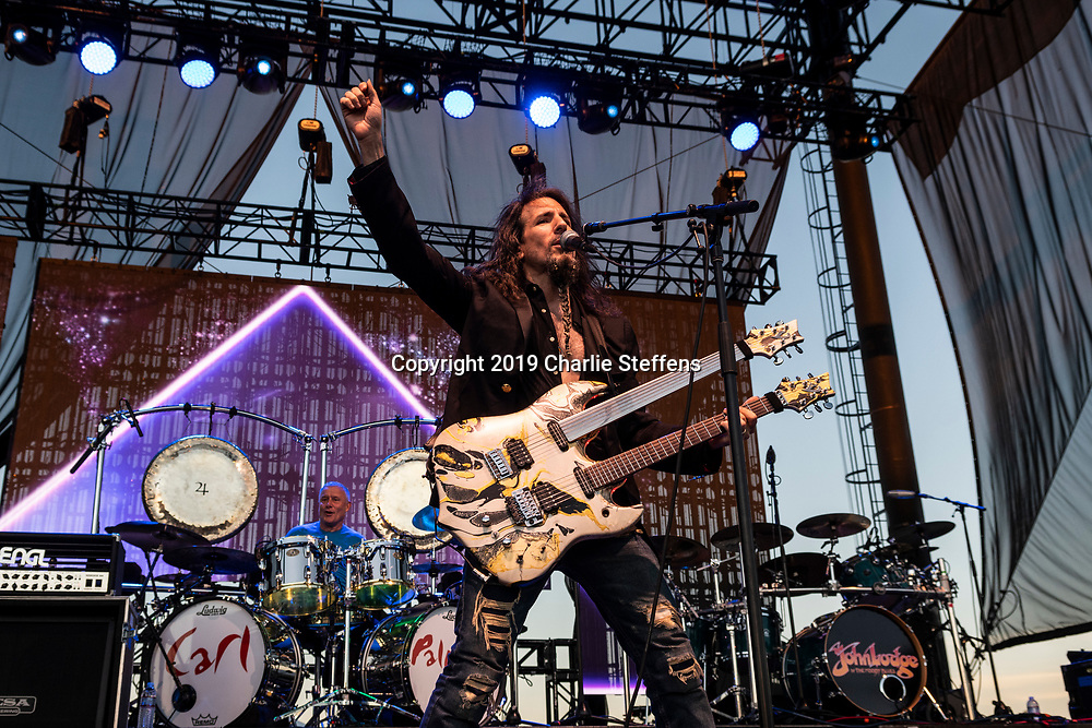 """RON """"BUMBLEFOOT"""" THAL of Asia at Five Point Amphitheater in Irvine, California."""