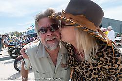 27th Annual Boardwalk Bike Show during Daytona Bike Week 75th Anniversary event. FL, USA. Friday March 11, 2016.  Photography ©2016 Michael Lichter.