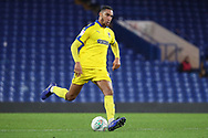 AFC Wimbledon defender Terell Thomas (6) passing the ball during the EFL Trophy match between U21 Chelsea and AFC Wimbledon at Stamford Bridge, London, England on 4 December 2018.