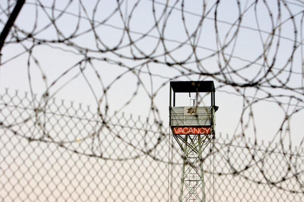 VERENIGDE STATEN-PHOENIX-In de gevangenis is er altijd plek. COPYRIGHT GERRIT DE HEUS