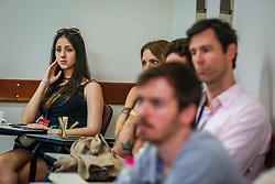 Bruno Sabino apresenta a palestra no #FT17, Festival da Transformação 2017, realizado pela Associação dos Dirigentes de Marketing e Vendas do Rio Grande do Sul (ADVB-RS), na ESPM-Sul. Inspirado em alguns dos maiores eventos do mundo de inovação e tendências (SXSW, Cannes Lions e Burning Man), o #FT17 é maior hub de conteúdo da história de Porto Alegre.  Foto: Felipe Nogs  / Agência Preview